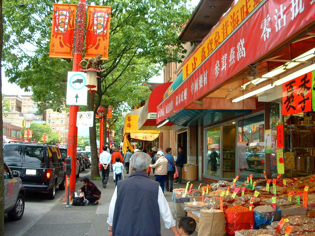 China Town Vancouver, Canada