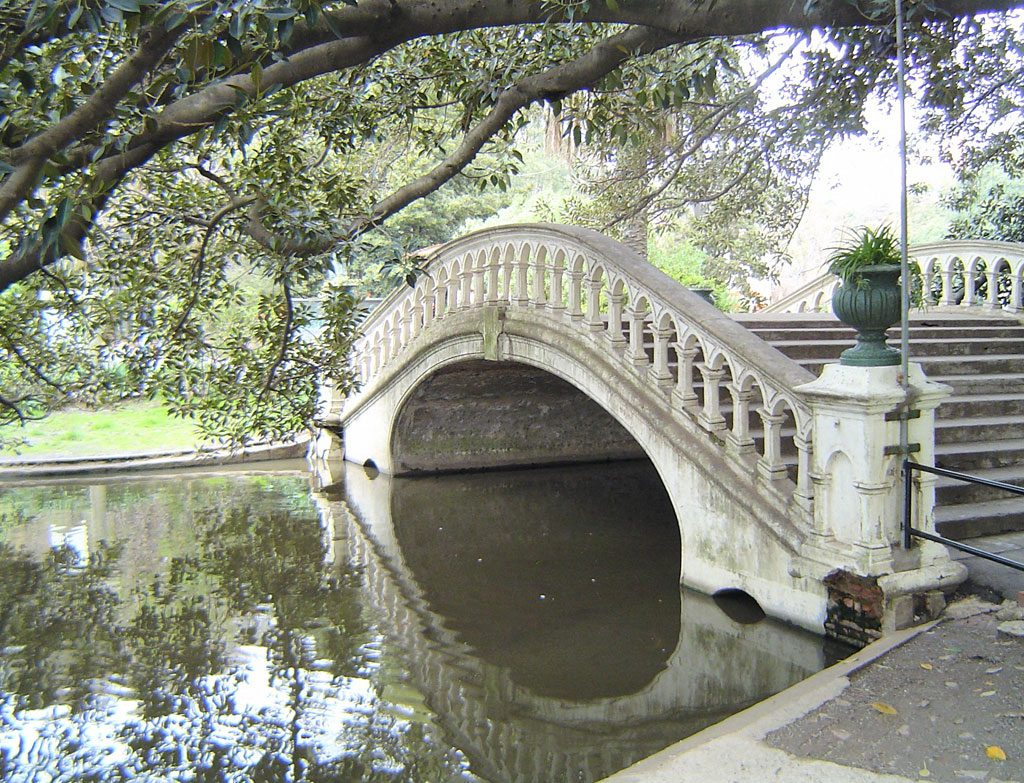 The old bridge, Buenos Aires Zoo, Argentina
