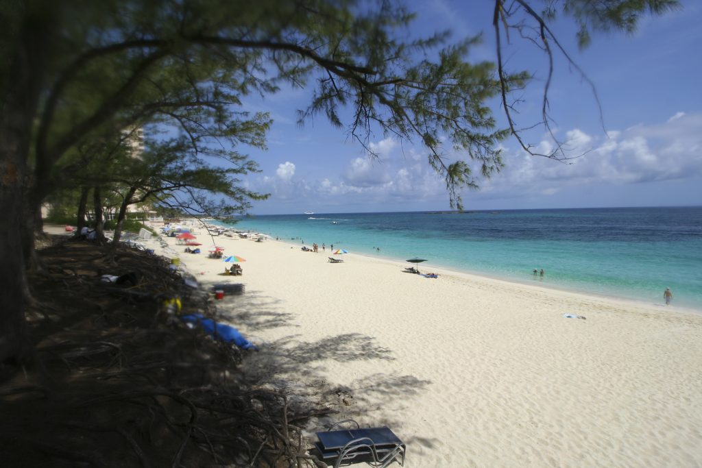 Cabbage beach - paradise island