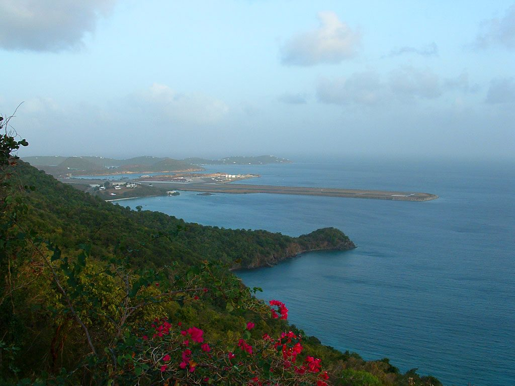 Brewers Bay and View of St. Thomas Airport